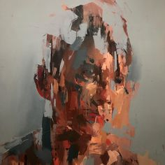Progress - Kai Samuels-Davis #painting #portret