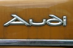 All sizes | Audi | Flickr - Photo Sharing! #saudi #lettering #vintage #metal #typography