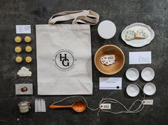 Herriott Grace: Re brand & Package Design / The Official Manufacturing Company #herriott #grace #identity