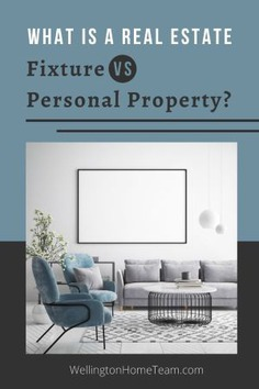 What is a Real Estate Fixture VS Personal Property?