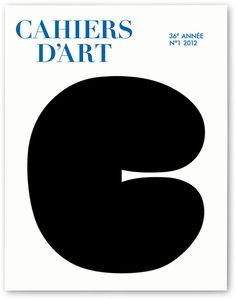Meiré und Meiré: Cahiers d'Art No.1 #paris #shape #art