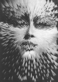 tumblr_lw7kxirHBO1qegxsco1_500.jpg (493×700) #photo #collage #face #shatter