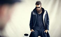 tech_spec #jacket #beard #layering #sunglasses