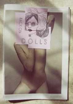 Back on dolls #llllydia #graphic #doll #desing #illustration