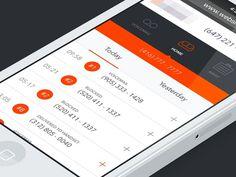 Responsive dashboard [wip] #responsive #iphone #dashboard #mobile #ios