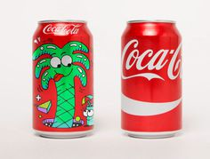 Steven Harrington. Coca-Cola design. #packagingdesign #packaging #cocacola #stevenharrington #steven harrington