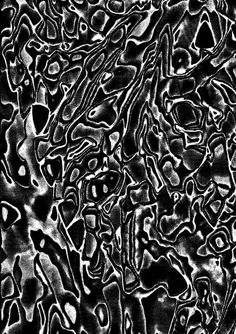 Foragepress.com | Jack Featherstone #pattern #motion #black #organic #noise