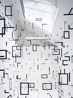 Esther Stocker | iGNANT #architecture #square #black and white #room