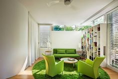 Trees on the Roof by Meditch Murphey Architects