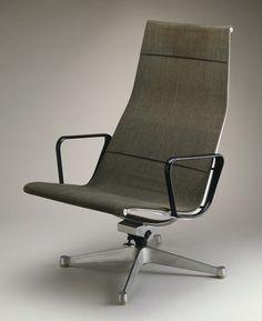 Aluminium #moderist #chair by Charles #Eames, c. 1958.