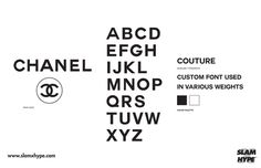 Chanel #font #chanel