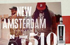 New Amsterdam Gin Stopbreathing #advertising