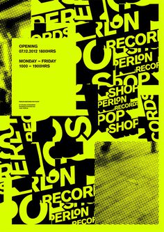Perlon Poster by DOUBLESTANDARDS.NET