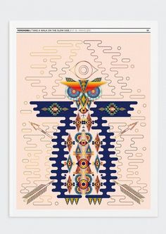 YOROKOBU ISSUE 18 COVER on the Behance Network #illustration #poster