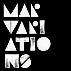 MAR on Typography Served #white #print #black #geometric #mono