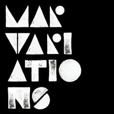 MAR on Typography Served #white #print #black #geometric #mono
