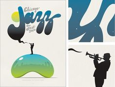Spike Press #jazz #print #design #illustration #poster