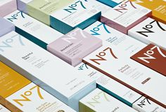 Creative Review Boots No7 brand gets a makeover #logo #brand #package #typography