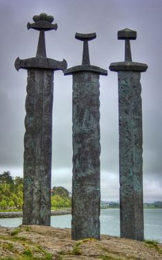 Viking Swords at Stavanger Swords Monument | Flickr - Photo Sharing! #3 #swords #monument