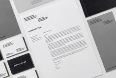 Dark Matter by Mash Creative #print #design #graphic #stationary