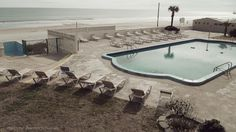 All sizes | Empty Beach Pool | Flickr - Photo Sharing! #pool #photography #vintage #empty #beach