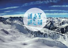 Tumblr #tumblr #snow #tipography #landscape #com #blue #mountains #typography