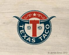 Texas Taco by jerron #logo #texas