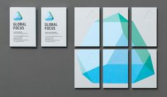 Global Focus | We are Bold #logo #brand #identity #stationery