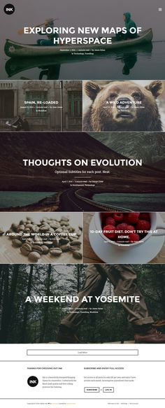 narrative, trend, layout, blogging, concept, simple, block #narrative #blogging #simple #block #concept #layout #trend