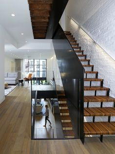 Downtown Townhome – Renovation of a Manhattan Residence by Studio DB