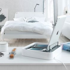 Bluelounge Sanctuary4 Charging Station for Smartphones and Tablets #gadget