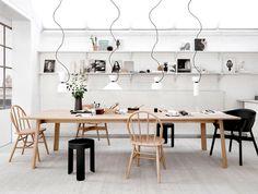 Alphabeta Lamp by Luca Nichetto - #diningroom, #table, #chairs, #interior, #decor, dining area