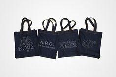 A.P.C. Denim Tote Bags | Hypebeast