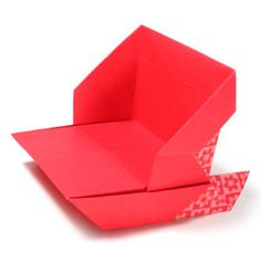 How to make a simple origami sleigh (http://www.origami-make.org/howto-origami-christmas.php)