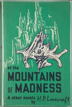 All sizes | At the Mountains of Madness | Flickr - Photo Sharing! #cover #illustration #book #art