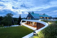 Edge House With Unique Timeless Architectural Form - #architecture, #house, #housedesign, home, architecture