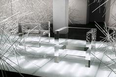 Snowflake by Tokujin Yoshioka for Kartell #tokujin #art #yoshioka #installation