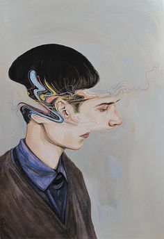Paintings by Artist Henrietta Harris #inspiration #art #painting