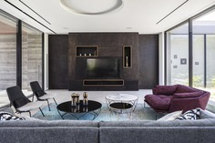 living room - Ecological House by Dan and Hila Israelevitz Architects