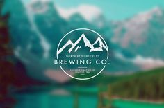 branding1 #logos #mountains #brewing