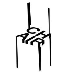 Chair #chair #b&w #lines #opart #barcelona #davidrico