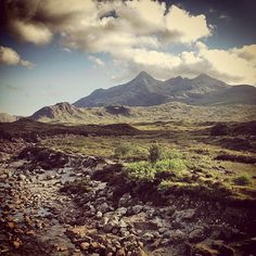 Ollie Hooper #clouds #views #rocks #scenes #isle #blue #mountains #skye