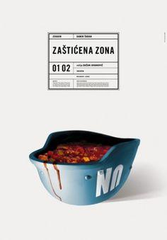 Studio Cuculić | Radovi - zekaem, zaštićena zona #design #graphic #poster