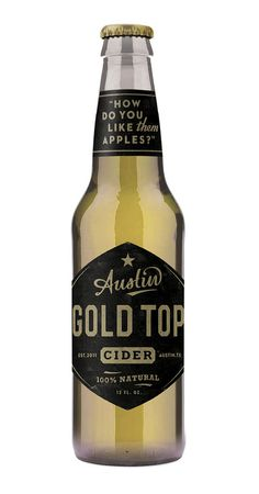 Gold Top bottle comp | Flickr - Photo Sharing! #bottle