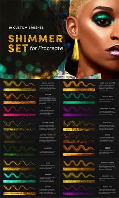 Shimmer Set - Procreate Brushes