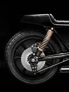 Where is the Cool? #cafe #black #motorcycle