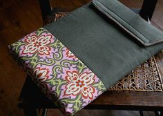 Tillymoss - Handcrafted Sleeves and Accessories for Macbooks - Temple garland #macbook #fabric #garland #sleeve