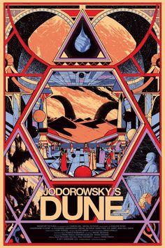 Jodorowsky's Dune #jodorowskys #movie #dune #alejandro #poster #jodorowsky #kilian #eng