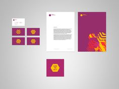 Abstract Architecture on Branding Served #identity #stationery