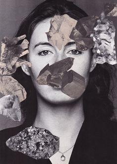 Jesse Draxler | Foragepress.com #crystals #scan #woman
